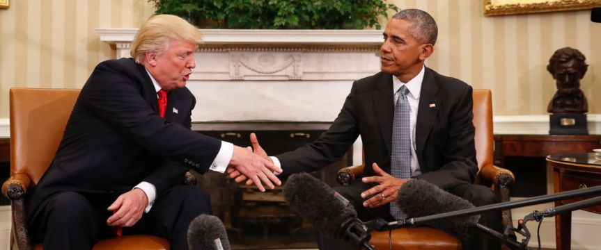 US President Vacation and Protection Spending – Obama vsTrump